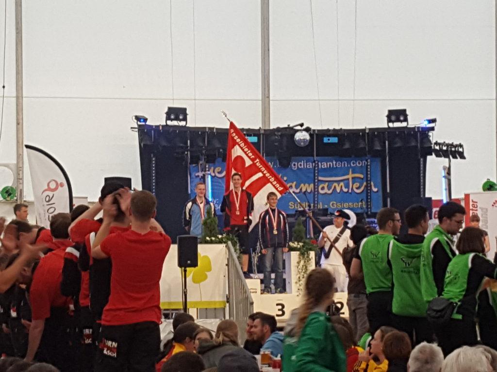 Turnfest diegten podium Patrick Hüppi
